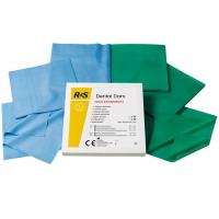 Платки для кофердаму без латексу (Latex free) Dental Dam RS