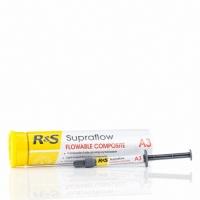 СУПРАФЛОУ (Supraflow), 2g Микрогибридный светоотверждаемый композитный материал, рентгеноконтрастный.