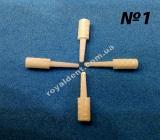 ЕКЗАТЕК №1 (EXATEC) стекловолоконные штифты культевидной формы повышенной ретенции. (ХАНЕНКРАТТ)