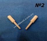 ЕКЗАТЕК №2 (EXATEC) стекловолоконные штифты культевидной формы повышенной ретенции. (ХАНЕНКРАТТ)