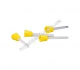 Насадка желтая 1:1 для смешивания А-силиконов в картриджах (1шт.)